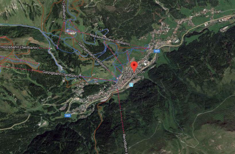 St-Anton le domaine d'Arlberg avec Jacques Laplante